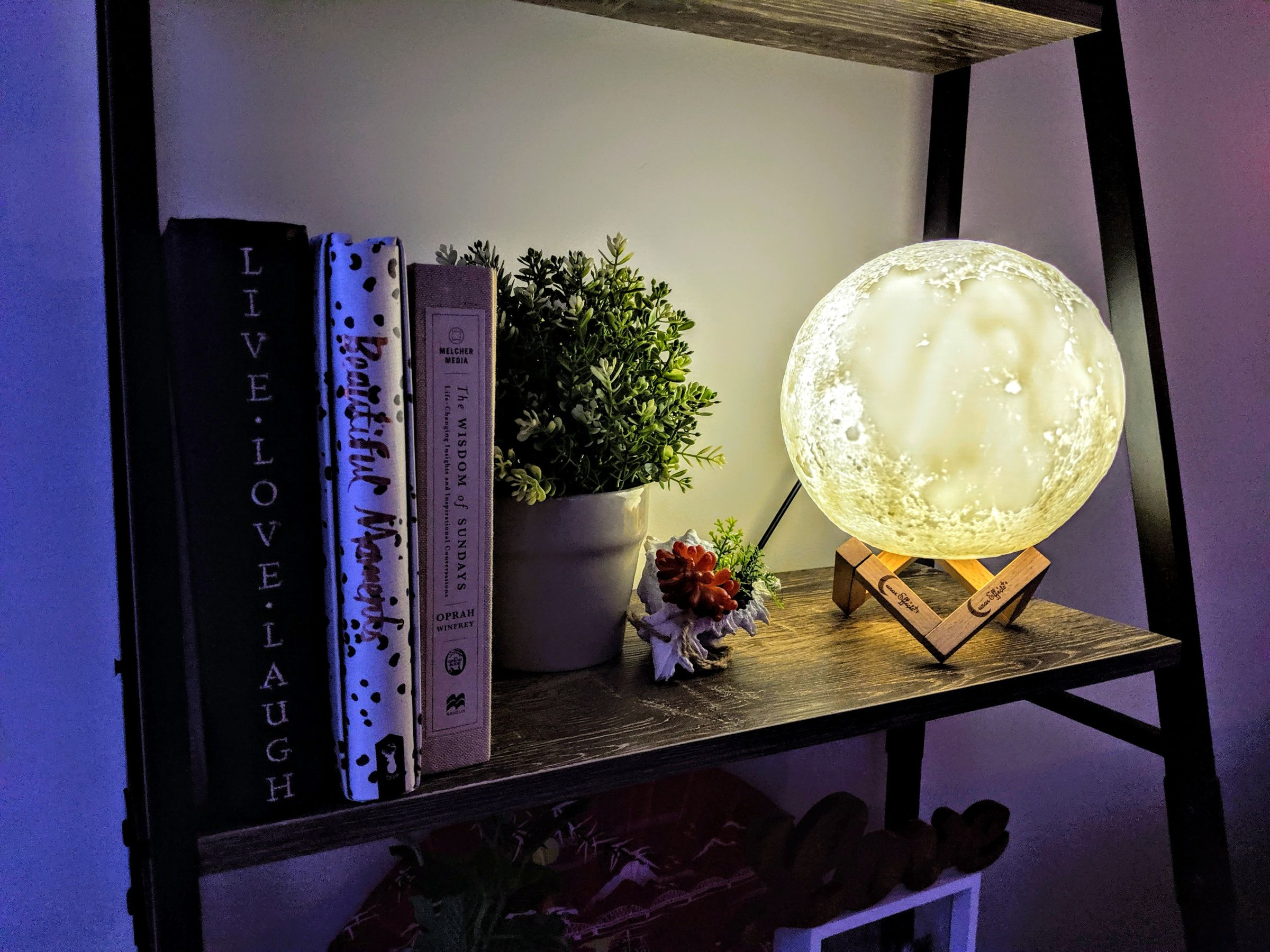 Lunar effects Moon Lamps